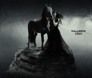 _black_horse_and_black_princess__by_ruhmorqu-d4saea9