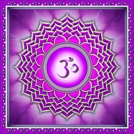 Crown-chakra symbol